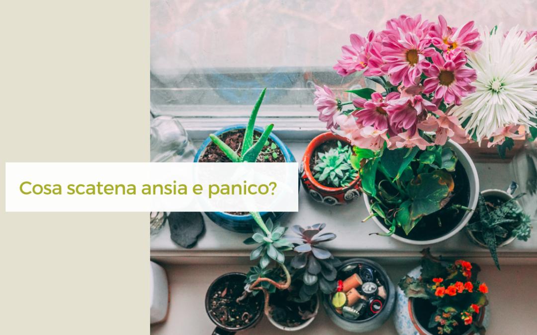 Cosa scatena ansia e panico?